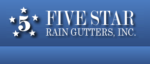 Five Star Rain Gutters logo paso robles ca 93423 gutter cleaning.png